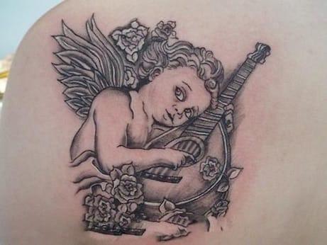 Tetování: Anděl