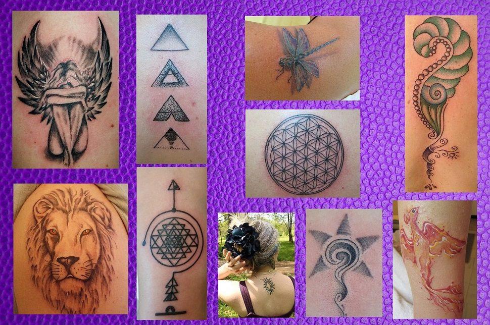 dobře zvolené tetování
