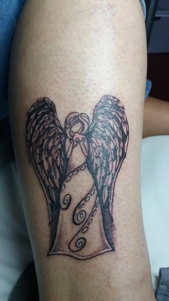 Tetování anděl
