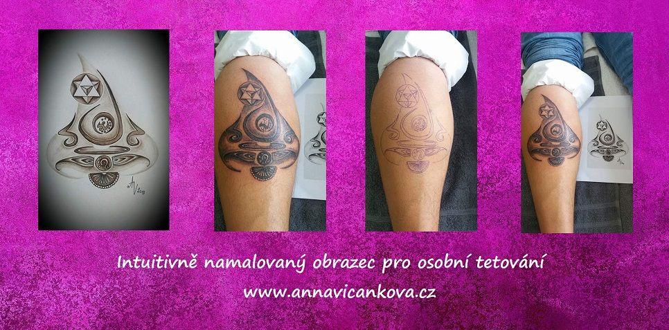 osobní návrh tetování