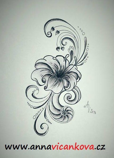osobní návrh lilie