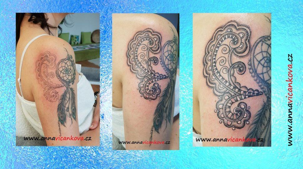 tetování rameno