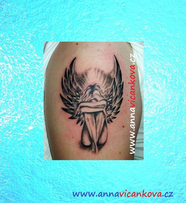 tetovani andel