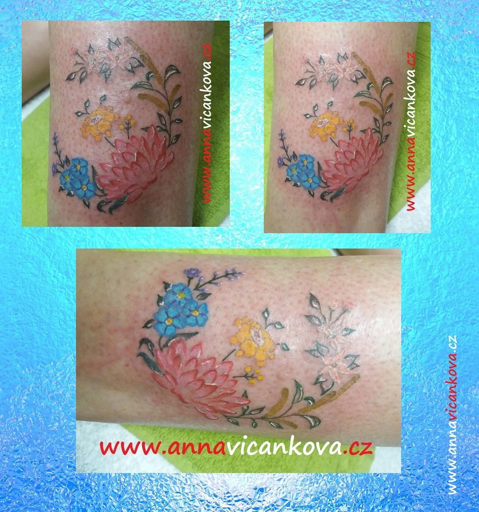 tetovani kvetina
