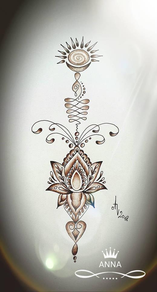 návrh na tetování