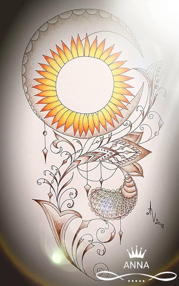 osobní kresba na tetování